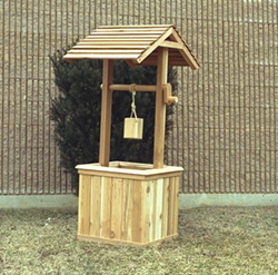 DIY Plans Wishing Well Planters PDF Download what is wood filler