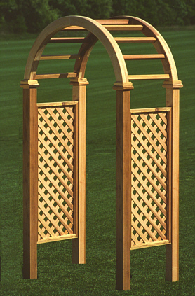 Wood Innovations Custom Cedar Gates Arbors Pergolas